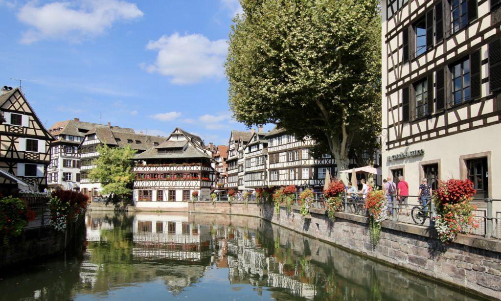 Ville de Strasbourg pour vacances d'ete en France