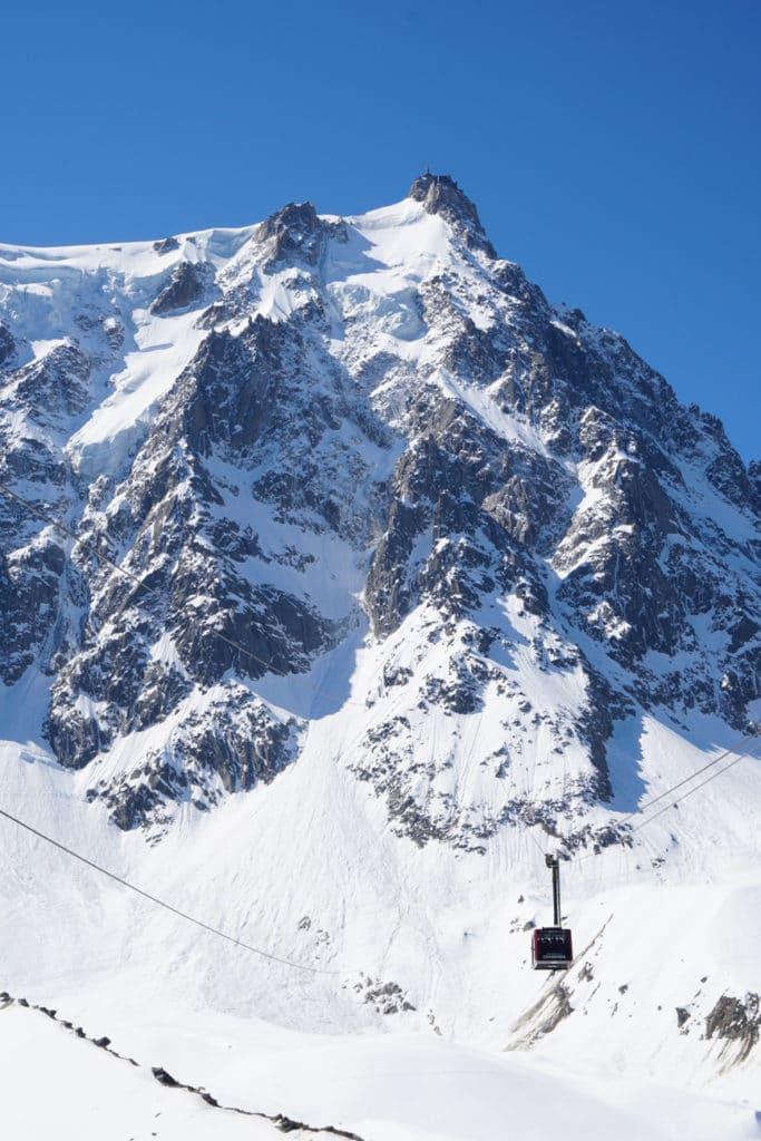 Telepherique Aiguille du Midi