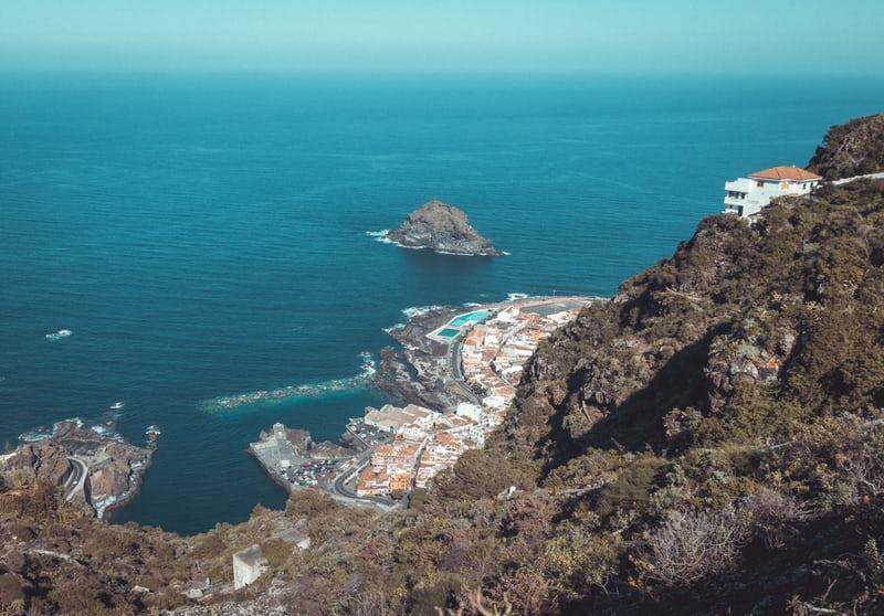Vue sur mer à Tenerife