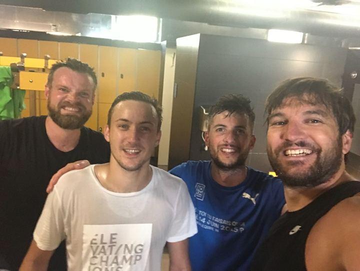 Equipe Fizzer tennis Barcelone