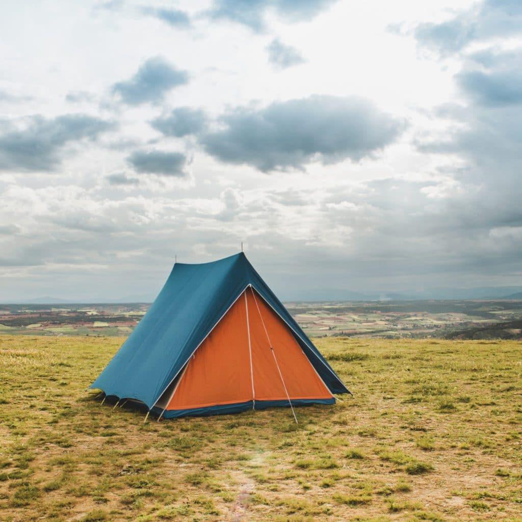 Tente pour le camping
