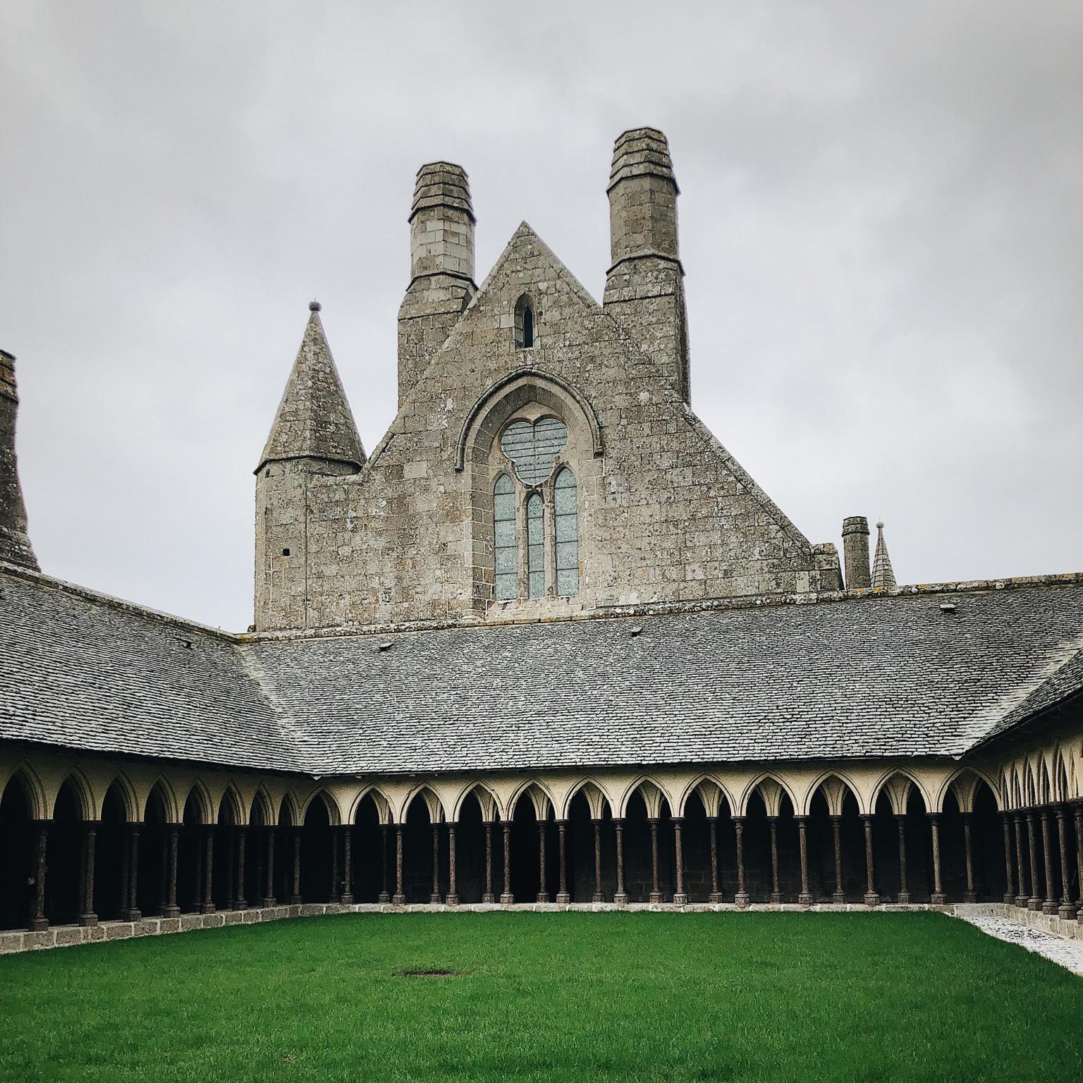 the mont saint michel abbey