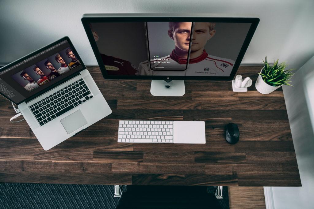 Trackpad pour bureau ergonomique