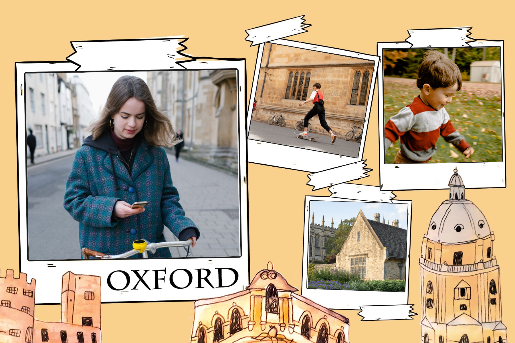 postcard from Oxford UK