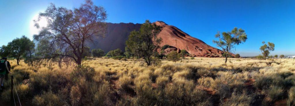Rocher Uluru, Australie, Voyage en famille