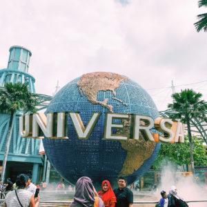Globe Universal Studios a Hollywood