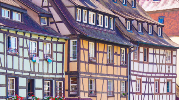 Maisons de la Petite-France quartier ancien de Strasbourg en Grand Est