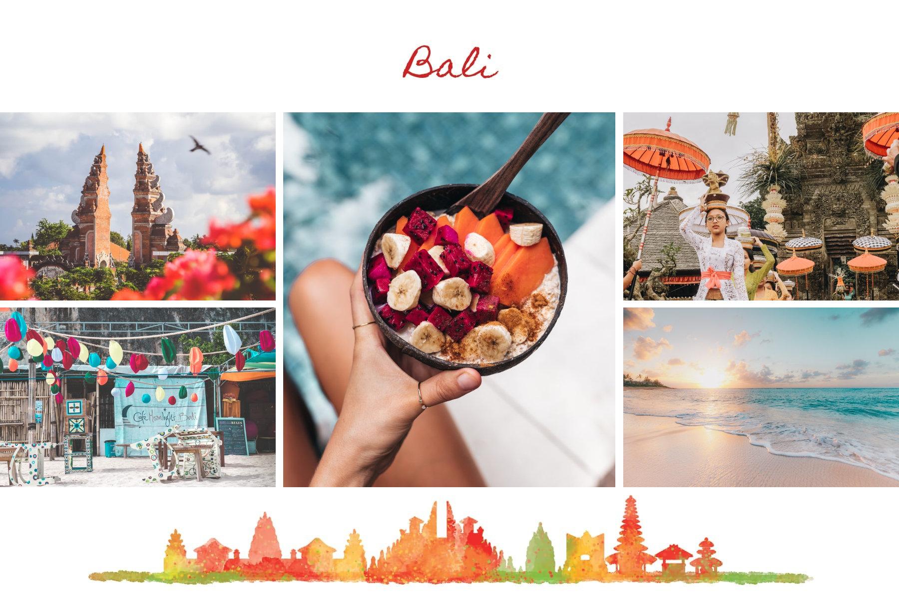 postcard holidays in bali