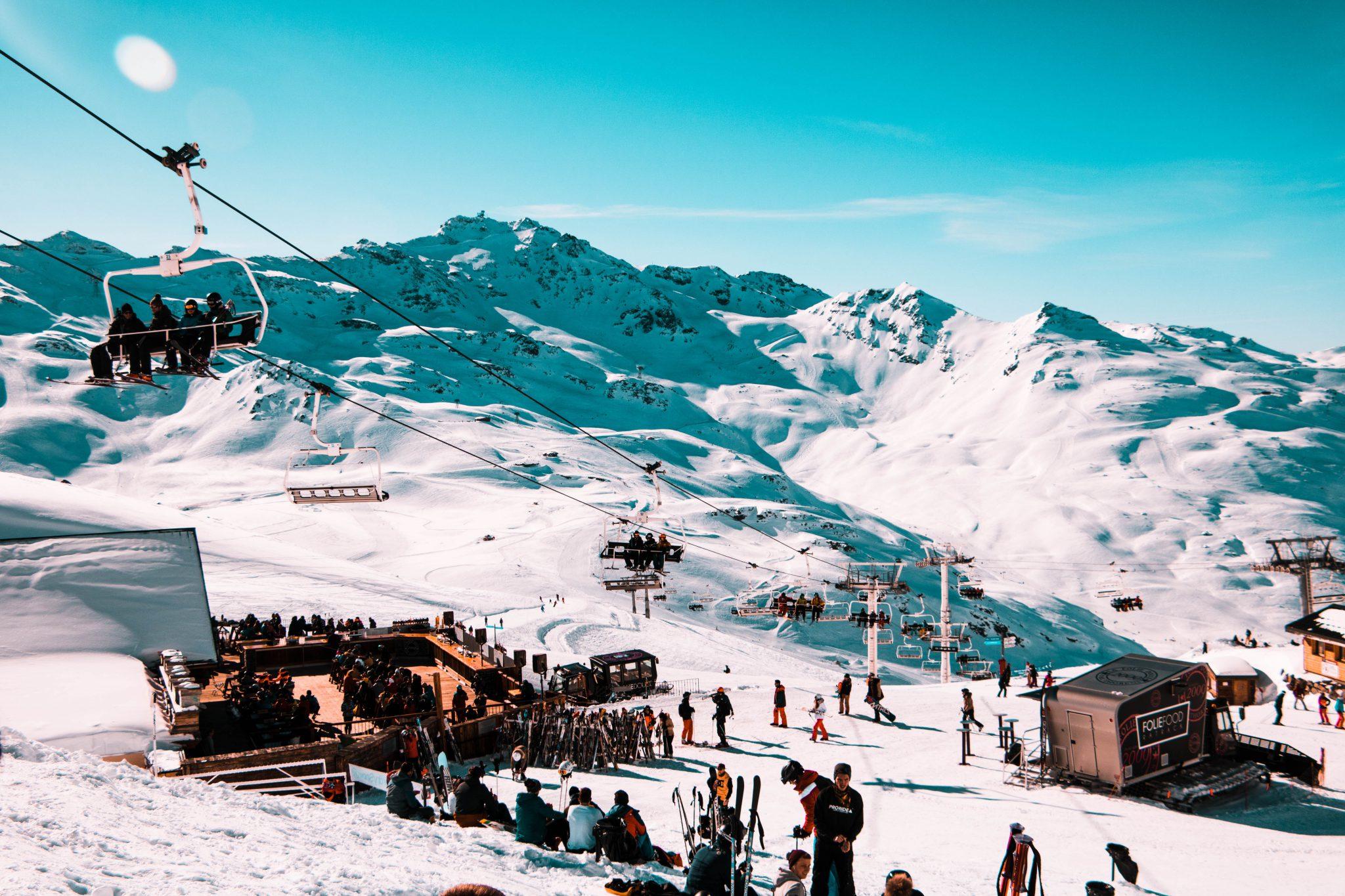 Val Thorens, l'une des meilleures stations de ski des Alpes