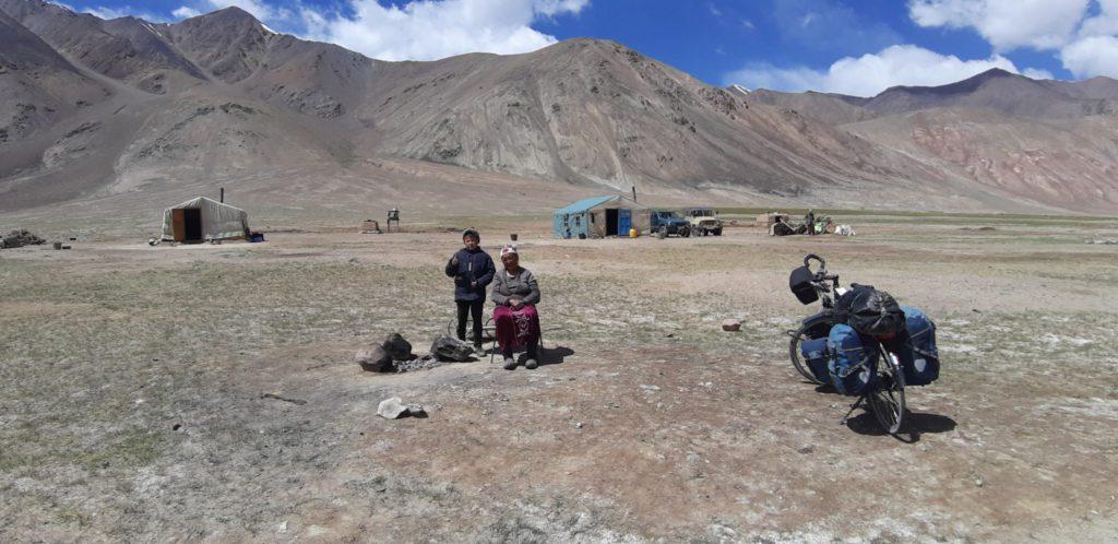 Vélo en Mongolie