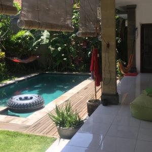 Villa pour digital nomad a Bali avec piscine