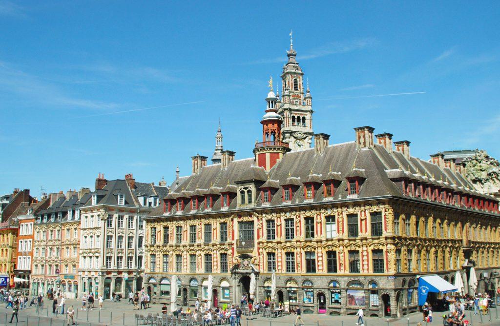 place centrale de Lille