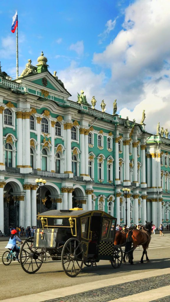 vols multi-destinations Saint-Petersbourg en Russie
