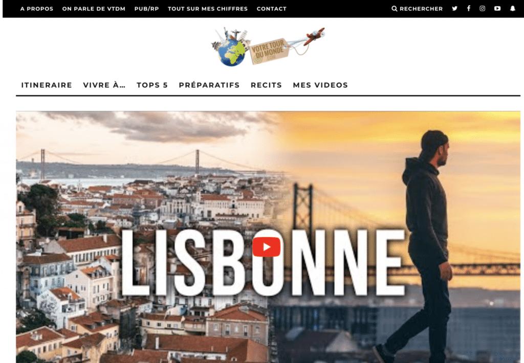 Accueil du blog voyage de Bruno Maltor