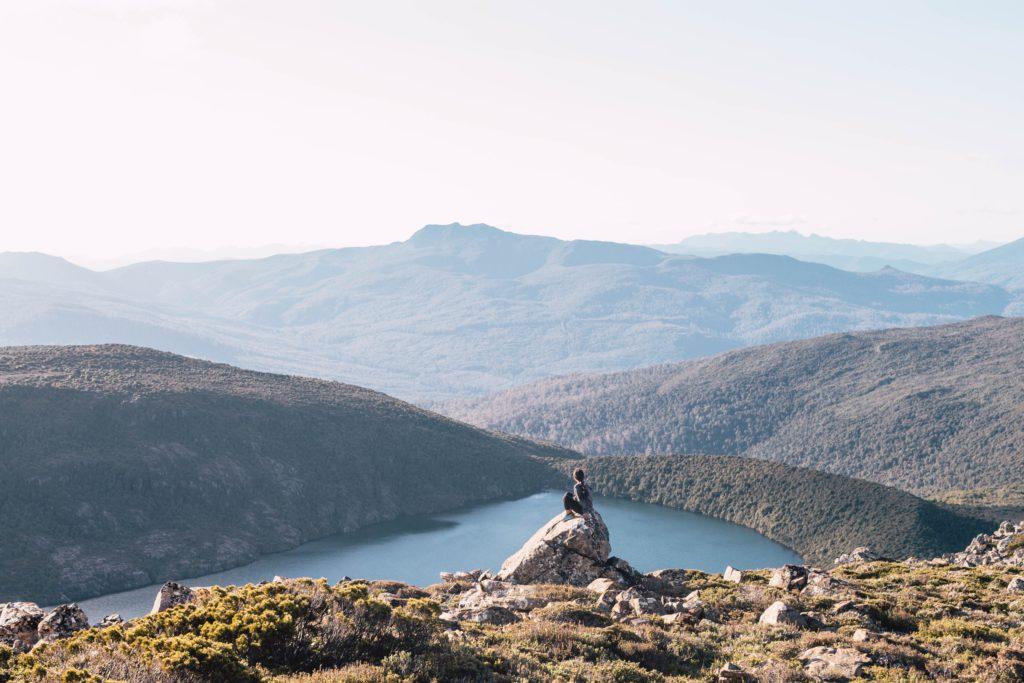 vue vallee en tasmanie australie