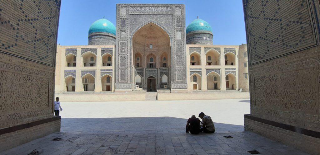 mosquée voyage à vélo