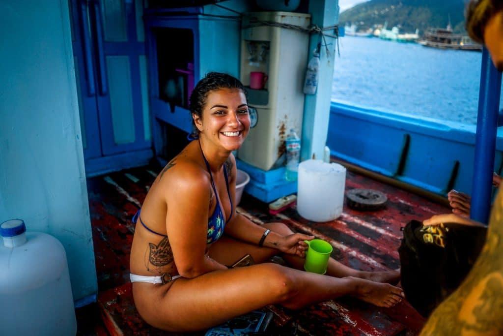 Voyager seule : Manon en Asie