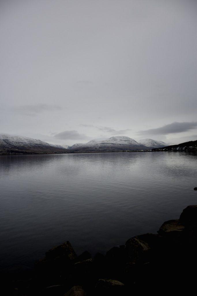 Fjord Akureyri Islande
