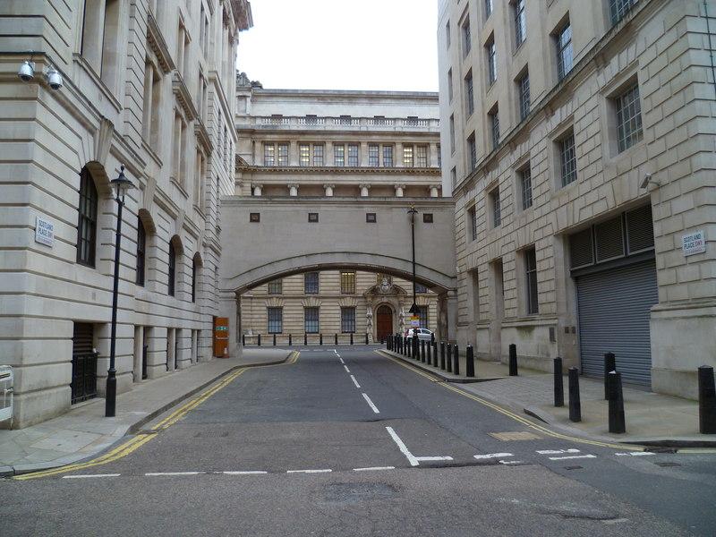 ministere de la magie a Whitehall Londres Harry Potter