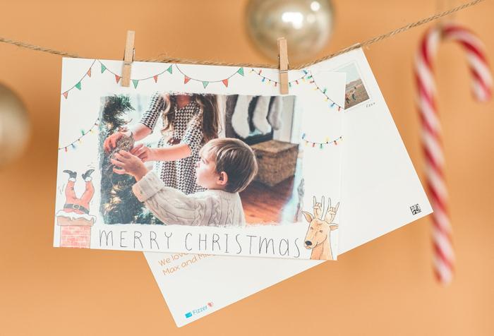 Sucre d'orge et boule de Noël dorée