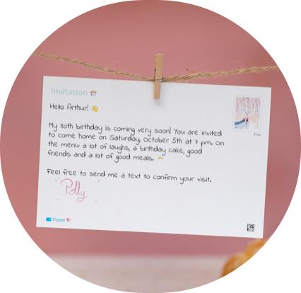 birthday invitation text